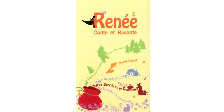 Flyer Renée conteuse
