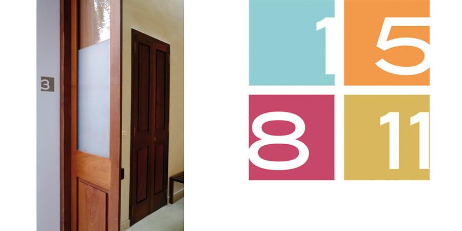 numéros chambres villa Shanti Pondichéry