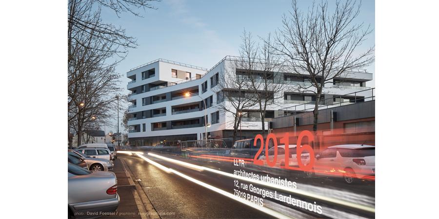 carte voeux 2016 LLTR architectes urbanistes