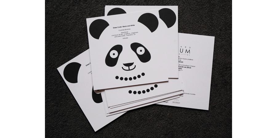 invitation edouard nahum joaillerie panda
